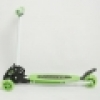 ZF-112A Metal + Plastic Compact Stable Scooter Green